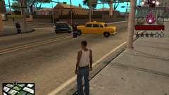 C-HUD homem de Ferro para GTA San Andreas