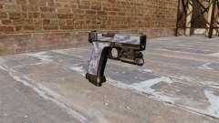 A Pistola Glock De 20 Blue Tiger