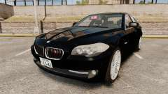 BMW M5 F10 2012 Japanese Unmarked Police [ELS]