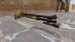Riot espingarda Remington 870 Wingmaster para GTA 4