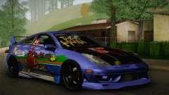 Toyota Celica Taz Mania Street Edition para GTA San Andreas