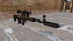 SVD sniper rifle reduzido