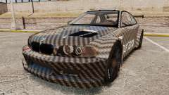 BMW M3 GTR 2012 Drift Edition para GTA 4