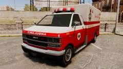 Iraniano pintura ambulância