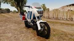 Português motocicleta de polícia [ELS]