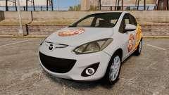 Mazda 2 Pizza Delivery 2011