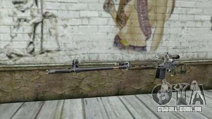 Rifle Sniper de um Stalker para GTA San Andreas