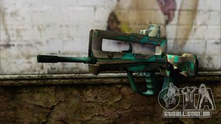 Famas G2 Commando Blaze para GTA San Andreas
