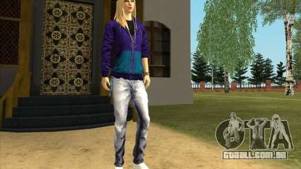 Pele De Avril Lavigne para GTA San Andreas