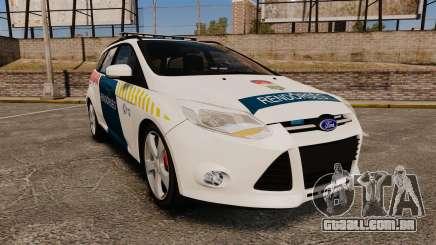 Ford Focus 2013 Hungarian Police [ELS] para GTA 4