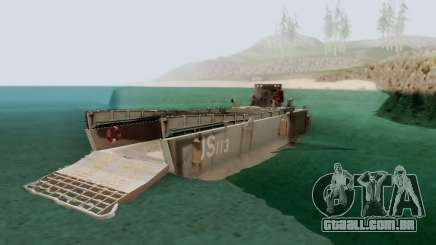 Landing Craft para GTA San Andreas