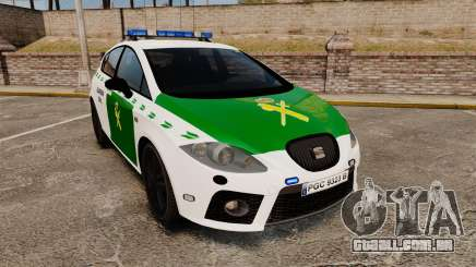 Seat Cupra Guardia Civil [ELS] para GTA 4