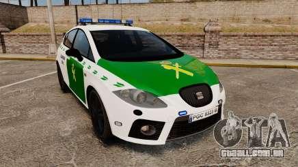 Seat Cupra Guardia Civil [ELS] para GTA 4