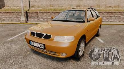 Daewoo Nubira I Wagon CDX PL 1998 para GTA 4