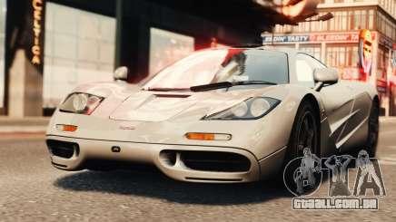 McLaren F1 XP5 para GTA 4