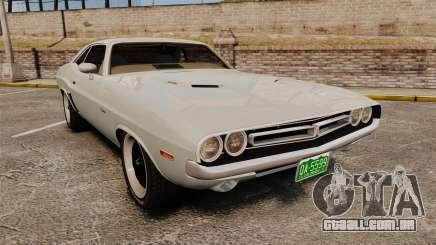 Dodge Challenger 1971 Vanishing Point para GTA 4