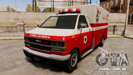 Iraniano pintura ambulância para GTA 4