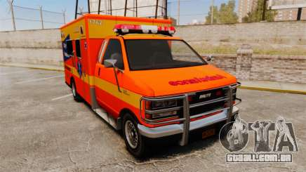 Brute CHH Ambulance para GTA 4