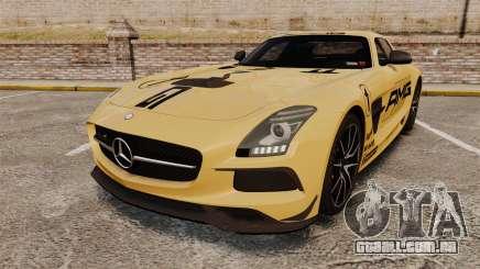 Mercedes-Benz SLS 2014 AMG Driving Academy v2.0 para GTA 4