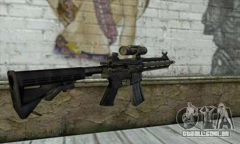 HK416 para GTA San Andreas segunda tela