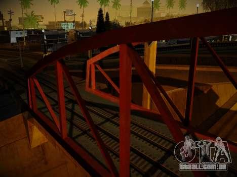 ENBSeries para PC fraco v3.0 para GTA San Andreas quinto tela