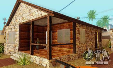 Nova casa do big Smoke para GTA San Andreas por diante tela