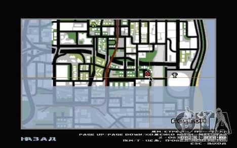 O porão da casa de Carl para GTA San Andreas nono tela