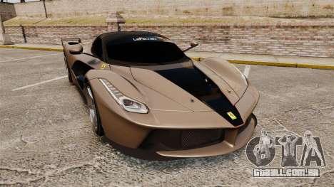 Ferrari LaFerrari v2.0 para GTA 4