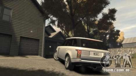 Range Rover Vogue 2014 para GTA 4 vista lateral