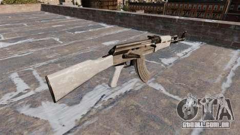 A AK-47 Camo AÇU para GTA 4 segundo screenshot