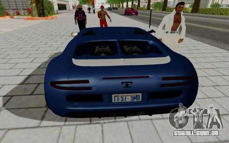 Gta 5 Truffade Adder para GTA San Andreas esquerda vista