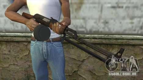 RPK Machine Gun para GTA San Andreas terceira tela
