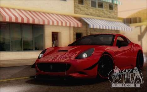 Ferrari California v2 para GTA San Andreas