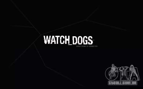 Arranque telas e menus de Watch Dogs para GTA San Andreas segunda tela