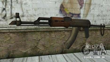 AKM Assault Rifle para GTA San Andreas