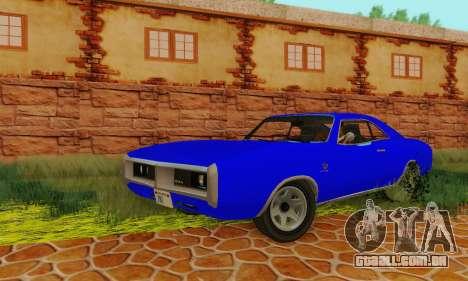 GTA 4 Imponte Dukes V1.0 para GTA San Andreas vista traseira