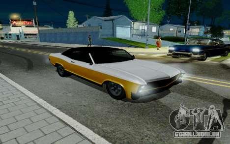Albany Buccaneer из GTA 5 para GTA San Andreas