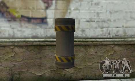 Granada de Ser Nukem para GTA San Andreas