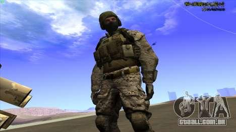 U.S. Navy Seal para GTA San Andreas