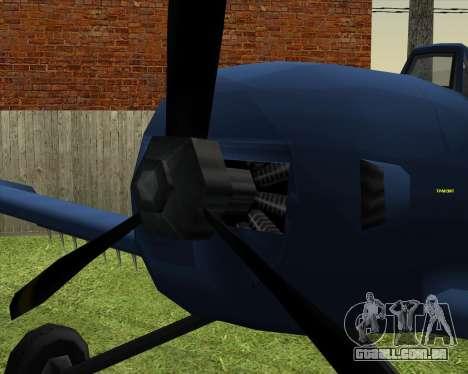 CD-38 mod.LP para GTA San Andreas vista direita