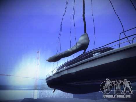 ENBseries para PC fraco v2.0 para GTA San Andreas sexta tela
