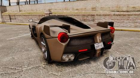 Ferrari LaFerrari v2.0 para GTA 4 traseira esquerda vista