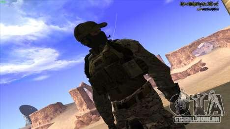 U.S. Navy Seal para GTA San Andreas décimo tela