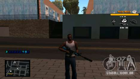 C-HUD Mass Media para GTA San Andreas