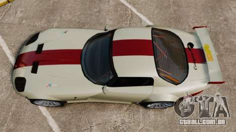 Bravado Banshee GT3 para GTA 4 vista direita