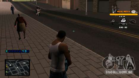 C-HUD Mass Media para GTA San Andreas terceira tela