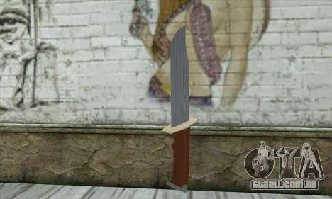 Militar faca para GTA San Andreas
