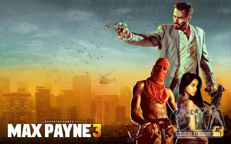 Arranque telas de Max Payne 3 HD para GTA San Andreas por diante tela
