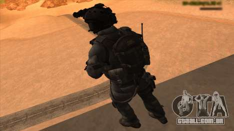Sgt Keegan P.Russ из Call Of Duty: Ghosts para GTA San Andreas sétima tela