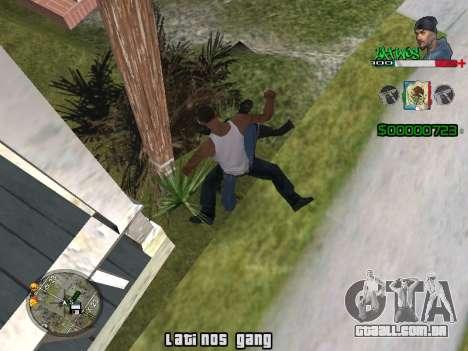 C-HUD Latinos by K.D para GTA San Andreas